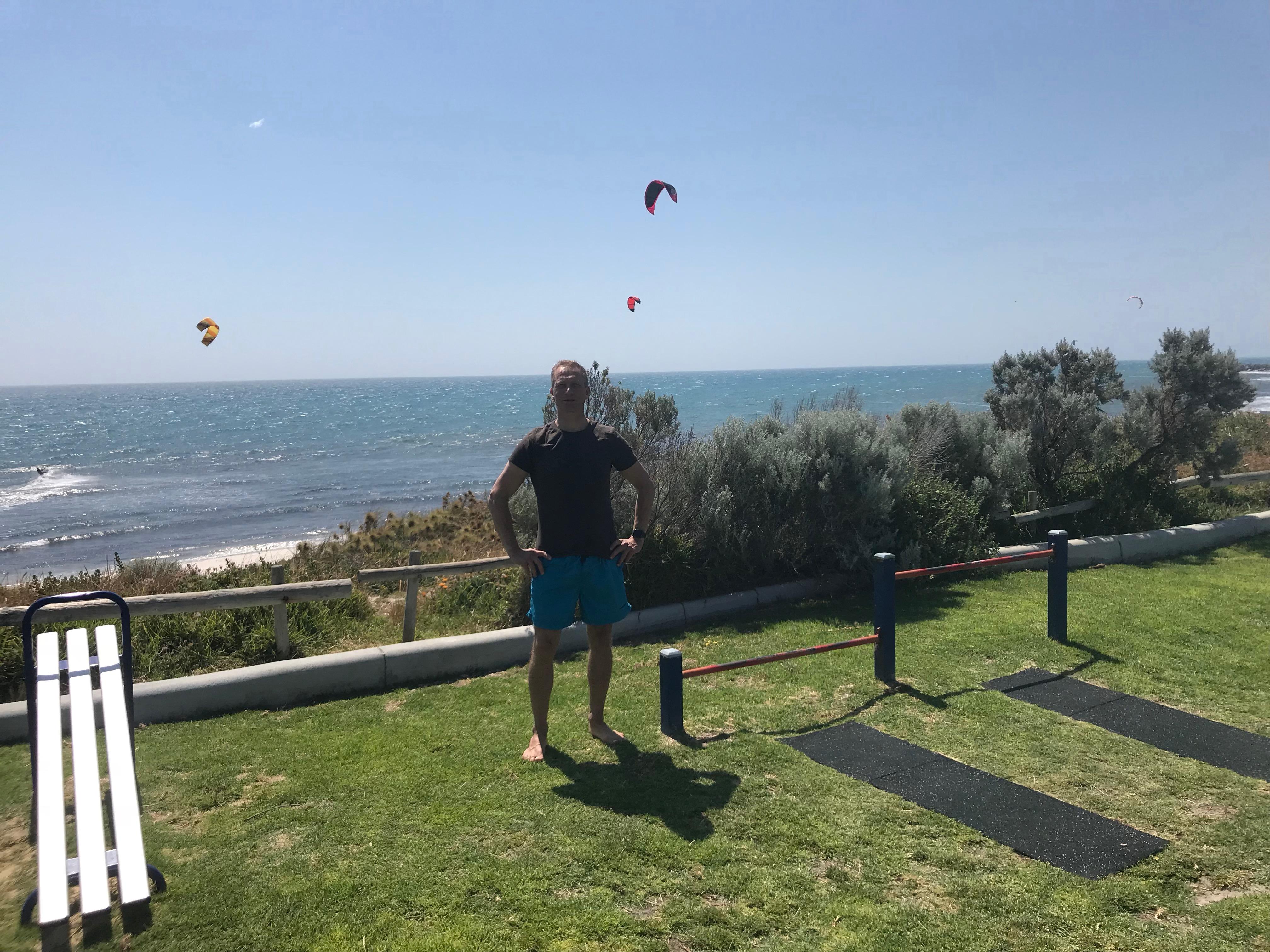 carl-henrik i australien